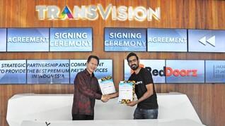 Kolaborasi Transvision dan RedDoorz untuk Layanan Premium