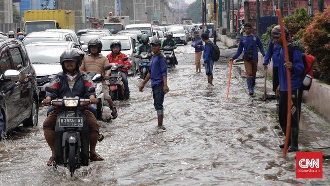 Pantau Titik Banjir di Jakarta Lewat Peta Bencana
