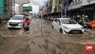 25 Titik Rawan Banjir dan 15 Genangan di Jakarta Saat Hujan
