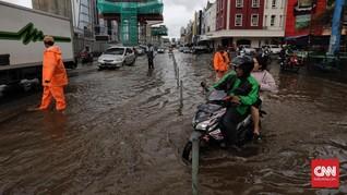 Banjir di Beberapa Titik Jakarta Mulai Surut