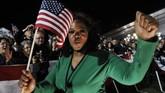 Oprah Winfrey berulang tahun ke-65 pada 29 Januari 2019. Ia bukan hanya sekadar selebritis dan pembawa acara, pengaruhnya sudah mendunia. (AFP PHOTO/EMMANUEL DUNAND)