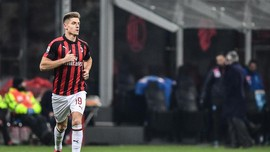 Lazio vs Milan Imbang di Semifinal Leg 1 Coppa Italia
