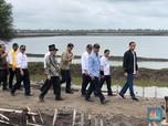 Di Muara Gembong Bekasi, Jokowi Dipatil Udang