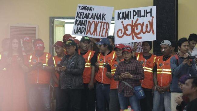 Ungkit Pidato Prabowo, Juru Parkir di Semarang Dukung Jokowi