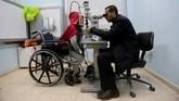 Najjar mengatakan saat itu dia sama sekali tidak menyerang pasukan Israel. (REUTERS/Ibraheem Abu Mustafa)