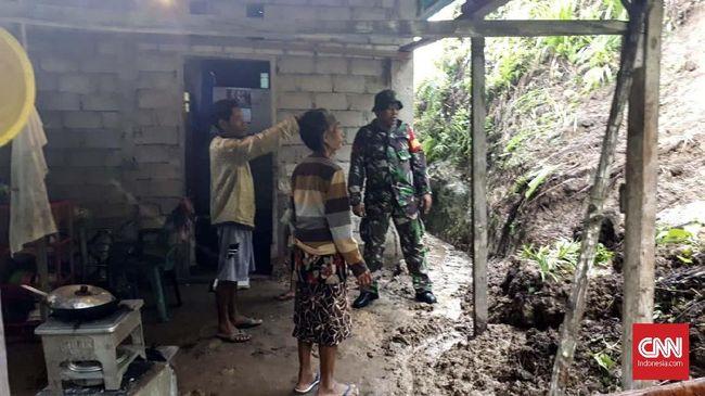 Hujan Deras Sebabkan Longsor di Lima Desa di Halmahera Barat