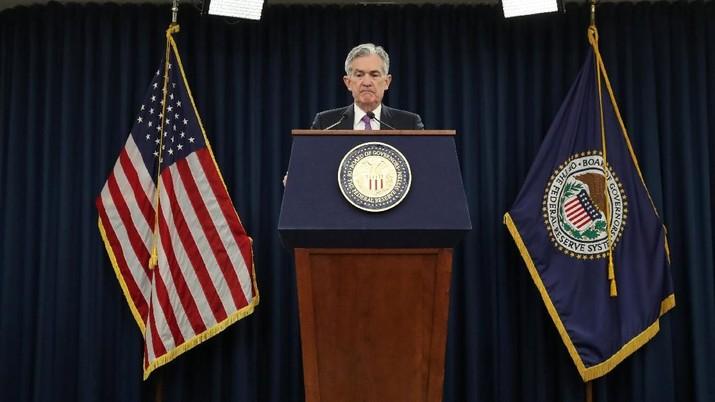 Dana Moneter Internasional (IMF) memperkirakan bank sentral Amerika Serikat (AS) Federal Reserve akan menaikkan suku bunga acuannya satu kali tahun ini.