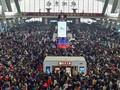 FOTO: Mudik Bareng Miliaran Orang di China