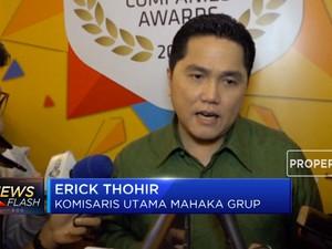 Erick Thohir Buka Suara Soal Kabar Pembelian Saham VIVA