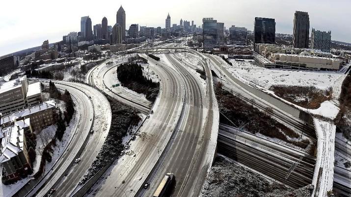 AS Dilanda Cuaca Ekstrem, Suhu Anjlok Sampai -54 Derajat