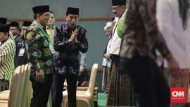 Hadiri Harlah NU, Jokowi Dorong UU Pesantren Segera Terbentuk
