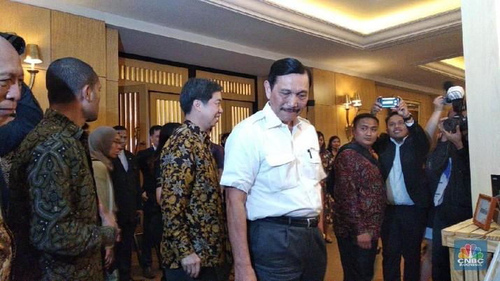Luhut Buka Suara Soal Pertemuan Bos Freeport dan Jokowi