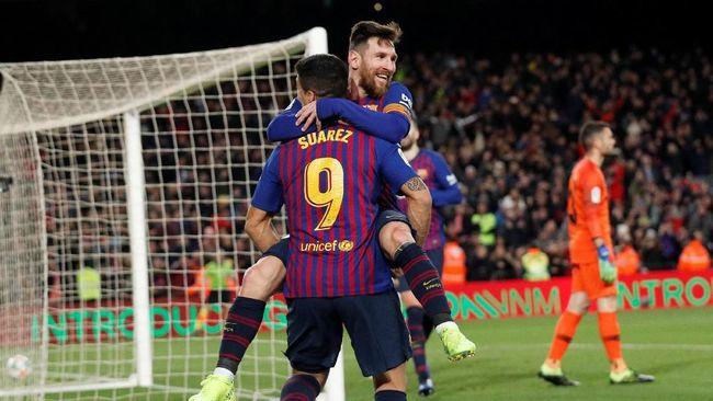 Meme Lucu Kemenangan Telak Barcelona di Copa del Rey