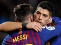 FOTO: Barcelona Hancurkan Sevilla