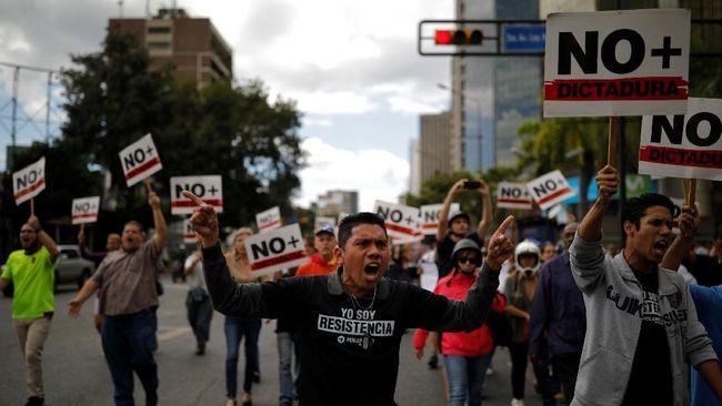 Venezuela Rusuh, Pemerintah Sebut Ada Percobaan Kudeta