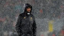 Klopp Sebut Salju Jadi Alasan Liverpool Gagal Menang