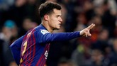 Barcelona siap mendengarkan penawaran Paris Saint-Germain terkait Philippe Coutinho. (REUTERS/Albert Gea)