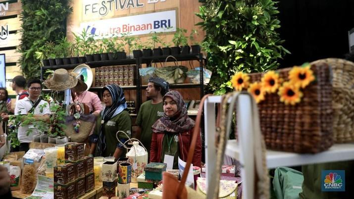 PT Bank Rakyat Indonesia (Persero) Tbk tengah gencar mendorong program kewirausahaan pertanian.