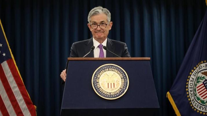 Bank sentral Amerika Serikat (AS) Federal Reserve memutuskan menahan suku bunga acuannya di kisaran 2,25%-2,5%, Rabu (30/1/2019).