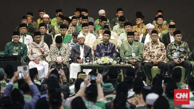 Jokowi: Saya Selalu Merasa Adem kalau Bersama Kiai NU