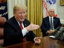 Lagi-lagi Trump Tebar Harapan Soal Damai Dagang AS-China