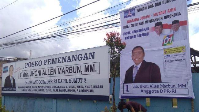 Caleg Demokrat Jhoni Allen Ungkap Alasan Dukung Jokowi