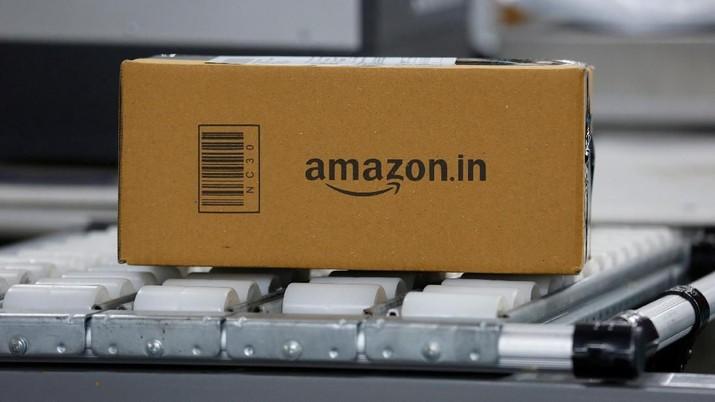 Pangkas Waktu, Amazon Resmi Kirim Paket Pakai Drone