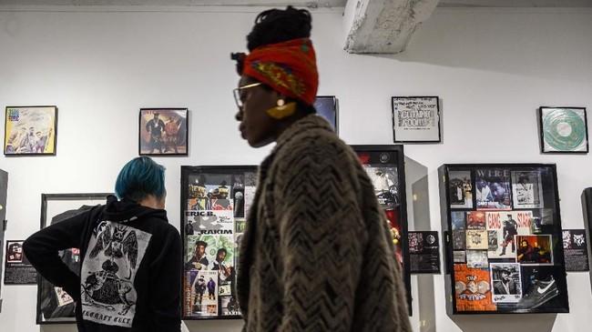 Hip hop kini menjadi salah satu musik yang paling banyak dibawakan musisi, bahkan disukai mantan Presiden AS, Barack Obama. (ANDREW CABALLERO-REYNOLDS / AFP)