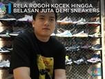 Demi Sneakers, Leslie Liando Rela Rogoh Belasan Juta Rupiah!