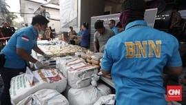 BNN Bongkar Sindikat Ekstasi Sumut, Anggota TNI AD Terlibat