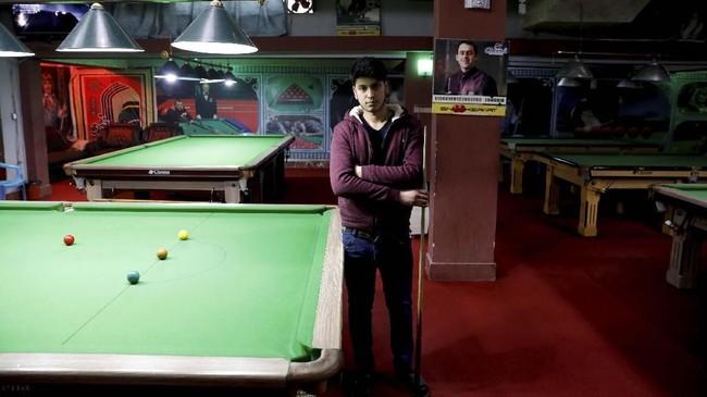 Farzad Aslami (18) ingin Afghanistan dalam situasi damai demi kesejahteraan. Dia tidak ingin mendengar lagi ada serangan bom bunuh diri. (REUTERS/Mohammad Ismail)