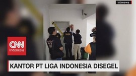 Kantor PT. Liga Indonesia Disegel!