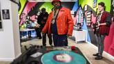 Amerika Serikat merayakan 40 tahun hip hop, yang disebut sebagai era fenomenal di dunia musik. (ANDREW CABALLERO-REYNOLDS / AFP)