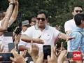 Survei CRC: Elektabilitas Prabowo di Sumatera Kalahkan Jokowi