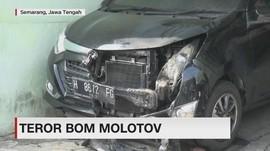 Teror Bom Molotov Resahkan Warga Semarang