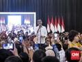 Jokowi Ungkap Survei Internal, Elektabilitas di Jateng Turun