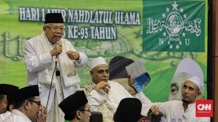 Ma'ruf Amin Safari ke Pesantren di Semarang dan Kendal