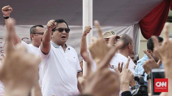 Jawaban Keluhan Prabowo soal Susah Kredit Bank untuk Kampanye