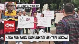 Nada Sumbang Komunikasi Menteri Jokowi (3/3)