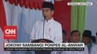 Jokowi Sambangi Ponpes Al-Anwar