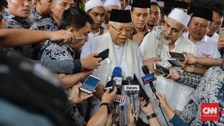 Ma'ruf Amin Janji Kembangkan Fintech Syariah
