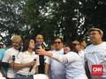 Saat Prabowo Berkelakar Soal Celana dan Topi