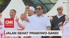Ribuan Relawan Ikuti Jalan Sehat Prabowo-Sandi
