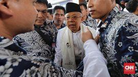 Ma'ruf Amin soal Munajat 212: Jangan Politisasi MUI