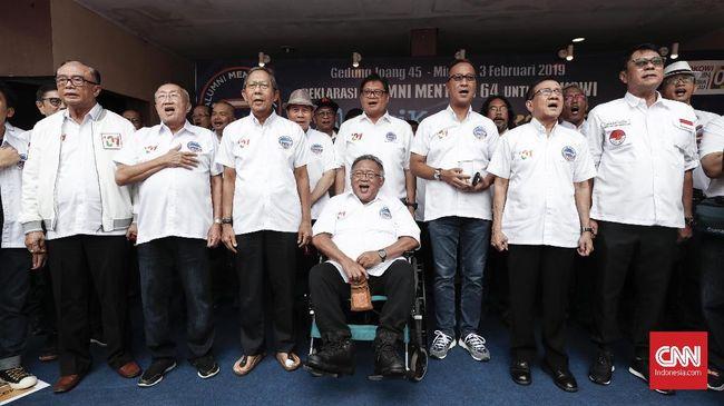 Moeldoko Bantah TKN Mobilisasi Alumni Sekolah Dukung Jokowi