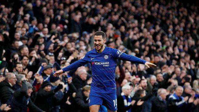 Eden Hazard Tak Lagi Bimbang Soal Masa Depan