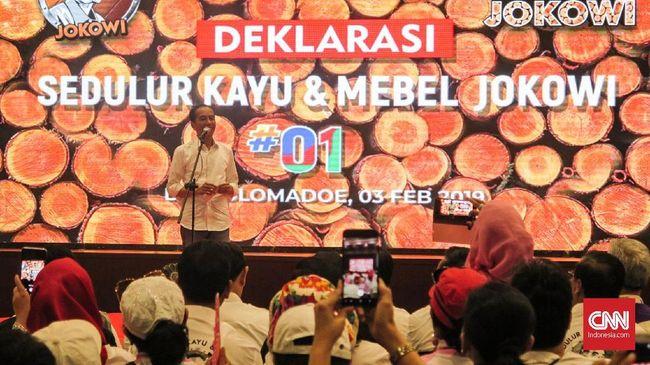 Jokowi: Saya Enggak Punya Uang untuk Pilpres 2019