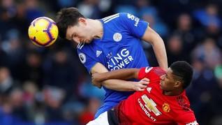 Leicester Tak Biarkan Man United dan Man City 'Curi' Pemain