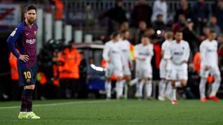 Final Copa del Rey: Messi Bikin Pelatih Valencia Pusing