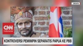 Kontroversi Pemimpin Separatis Papua ke PBB